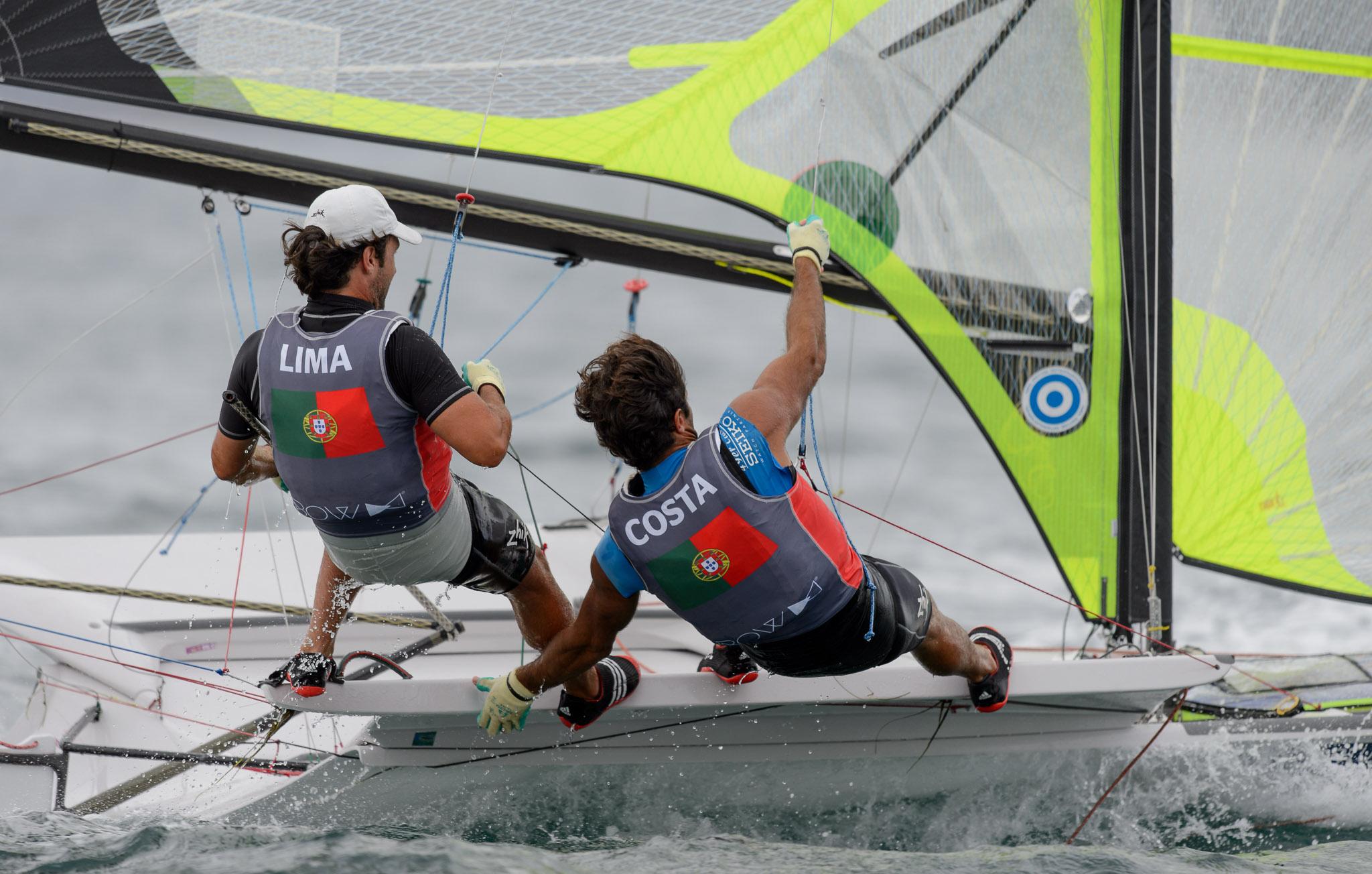Day 5 of the Santander 2014 ISAF Sailing World Championships