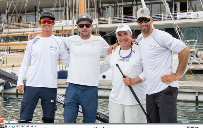 Aparecemos en el Reportaje del Campeonato de vela Conde de Godó 2021